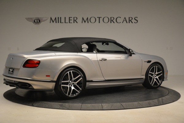 Used 2018 Bentley Continental GT Supersports Convertible for sale Sold at Aston Martin of Greenwich in Greenwich CT 06830 17
