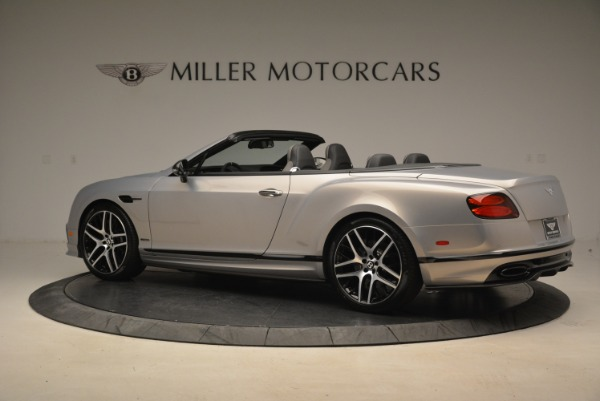 Used 2018 Bentley Continental GT Supersports Convertible for sale Sold at Aston Martin of Greenwich in Greenwich CT 06830 4