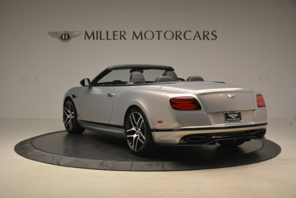 Used 2018 Bentley Continental GT Supersports Convertible for sale Sold at Aston Martin of Greenwich in Greenwich CT 06830 5