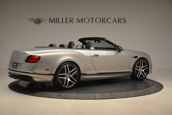 Used 2018 Bentley Continental GT Supersports Convertible for sale Sold at Aston Martin of Greenwich in Greenwich CT 06830 8