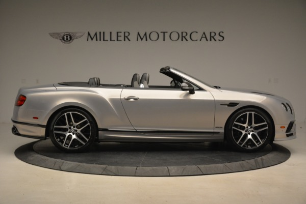 Used 2018 Bentley Continental GT Supersports Convertible for sale Sold at Aston Martin of Greenwich in Greenwich CT 06830 9