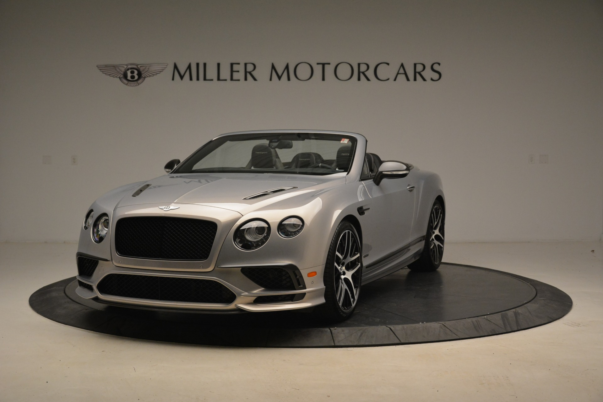Used 2018 Bentley Continental GT Supersports Convertible for sale Sold at Aston Martin of Greenwich in Greenwich CT 06830 1