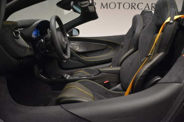 New 2018 McLaren 570S Spider for sale Sold at Aston Martin of Greenwich in Greenwich CT 06830 24
