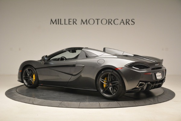 New 2018 McLaren 570S Spider for sale Sold at Aston Martin of Greenwich in Greenwich CT 06830 4