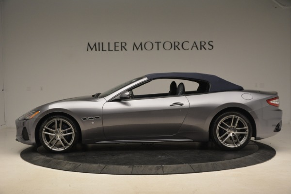 New 2018 Maserati GranTurismo Sport Convertible for sale Sold at Aston Martin of Greenwich in Greenwich CT 06830 3