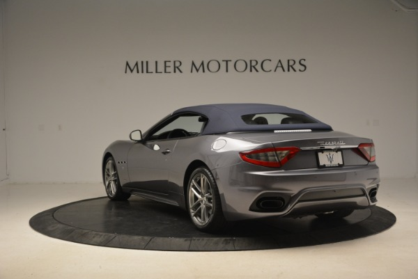 New 2018 Maserati GranTurismo Sport Convertible for sale Sold at Aston Martin of Greenwich in Greenwich CT 06830 5