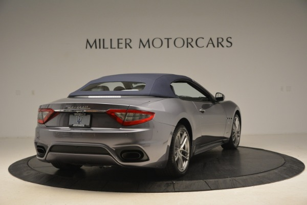 New 2018 Maserati GranTurismo Sport Convertible for sale Sold at Aston Martin of Greenwich in Greenwich CT 06830 7