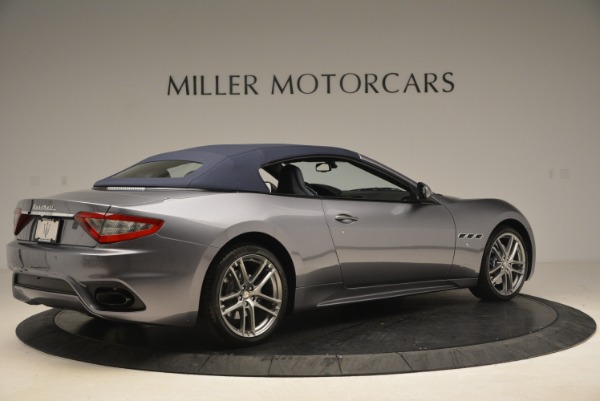 New 2018 Maserati GranTurismo Sport Convertible for sale Sold at Aston Martin of Greenwich in Greenwich CT 06830 8