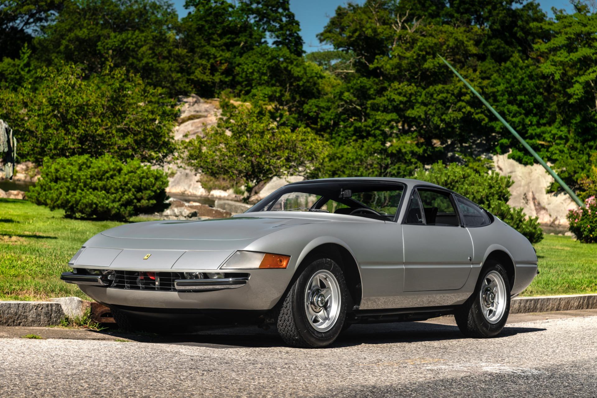 Used 1971 Ferrari 365 GTB/4 Daytona for sale Sold at Aston Martin of Greenwich in Greenwich CT 06830 1