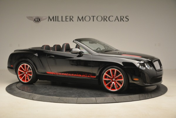Used 2013 Bentley Continental GT Supersports Convertible ISR for sale Sold at Aston Martin of Greenwich in Greenwich CT 06830 10