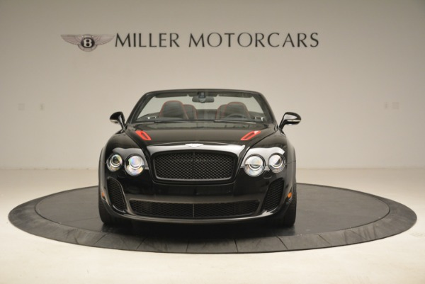 Used 2013 Bentley Continental GT Supersports Convertible ISR for sale Sold at Aston Martin of Greenwich in Greenwich CT 06830 12
