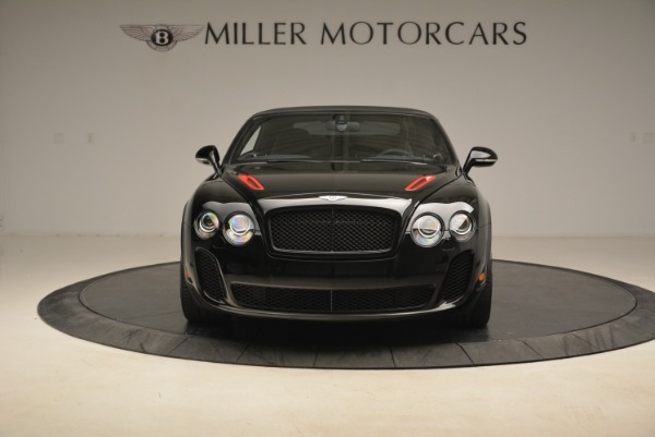 Used 2013 Bentley Continental GT Supersports Convertible ISR for sale Sold at Aston Martin of Greenwich in Greenwich CT 06830 13