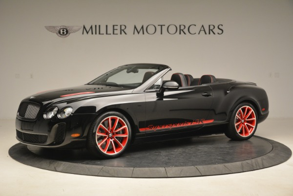 Used 2013 Bentley Continental GT Supersports Convertible ISR for sale Sold at Aston Martin of Greenwich in Greenwich CT 06830 2