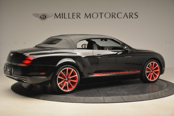 Used 2013 Bentley Continental GT Supersports Convertible ISR for sale Sold at Aston Martin of Greenwich in Greenwich CT 06830 21