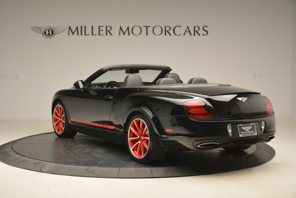 Used 2013 Bentley Continental GT Supersports Convertible ISR for sale Sold at Aston Martin of Greenwich in Greenwich CT 06830 5
