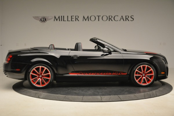 Used 2013 Bentley Continental GT Supersports Convertible ISR for sale Sold at Aston Martin of Greenwich in Greenwich CT 06830 9