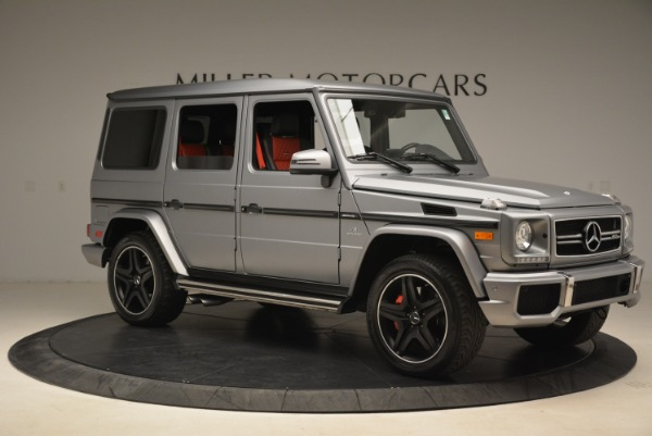 Used 2017 Mercedes-Benz G-Class AMG G 63 for sale Sold at Aston Martin of Greenwich in Greenwich CT 06830 10