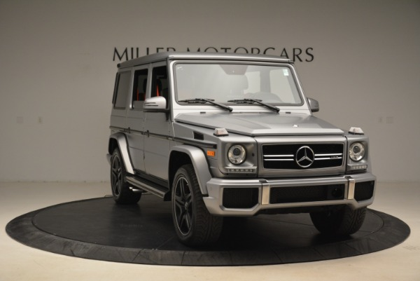 Used 2017 Mercedes-Benz G-Class AMG G 63 for sale Sold at Aston Martin of Greenwich in Greenwich CT 06830 11