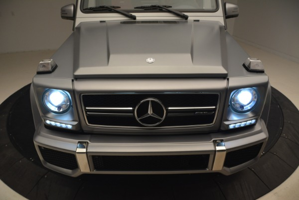 Used 2017 Mercedes-Benz G-Class AMG G 63 for sale Sold at Aston Martin of Greenwich in Greenwich CT 06830 15