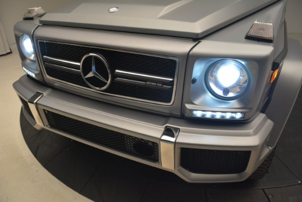 Used 2017 Mercedes-Benz G-Class AMG G 63 for sale Sold at Aston Martin of Greenwich in Greenwich CT 06830 16