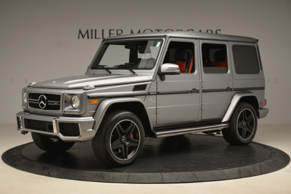 Used 2017 Mercedes-Benz G-Class AMG G 63 for sale Sold at Aston Martin of Greenwich in Greenwich CT 06830 2