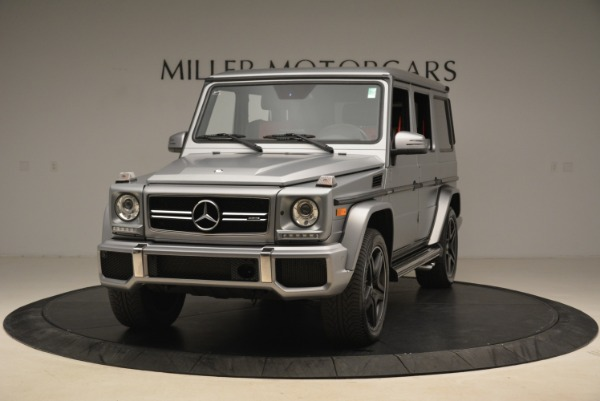 Used 2017 Mercedes-Benz G-Class AMG G 63 for sale Sold at Aston Martin of Greenwich in Greenwich CT 06830 1