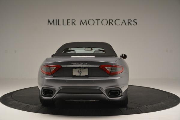 New 2018 Maserati GranTurismo Sport Convertible for sale Sold at Aston Martin of Greenwich in Greenwich CT 06830 18