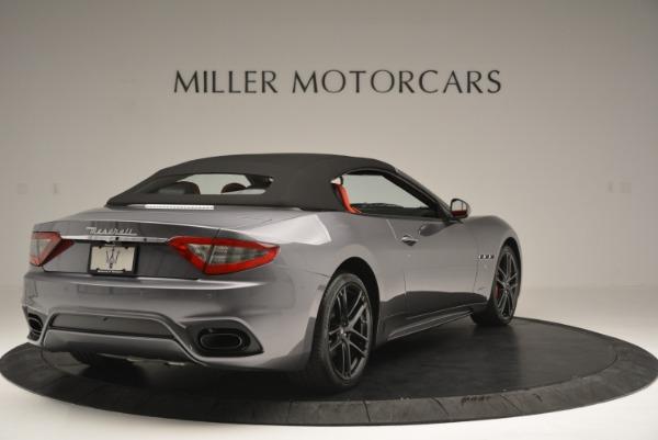 New 2018 Maserati GranTurismo Sport Convertible for sale Sold at Aston Martin of Greenwich in Greenwich CT 06830 19