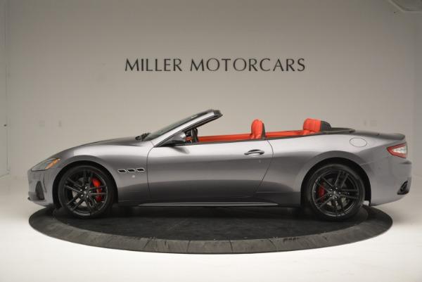 New 2018 Maserati GranTurismo Sport Convertible for sale Sold at Aston Martin of Greenwich in Greenwich CT 06830 3