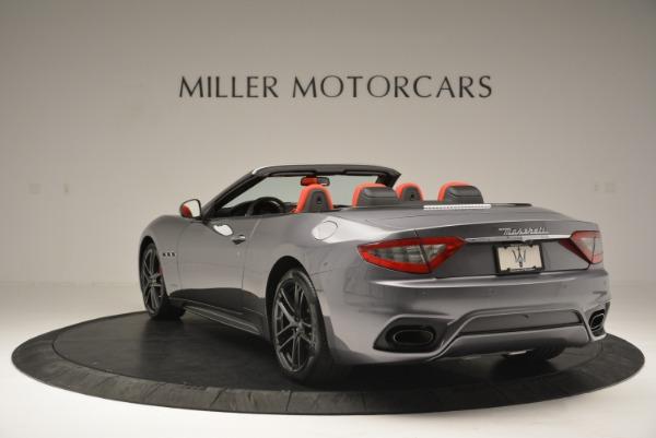 New 2018 Maserati GranTurismo Sport Convertible for sale Sold at Aston Martin of Greenwich in Greenwich CT 06830 5