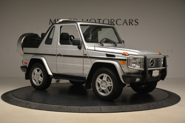 Used 2000 Mercedes-Benz G500 RENNTech for sale Sold at Aston Martin of Greenwich in Greenwich CT 06830 10