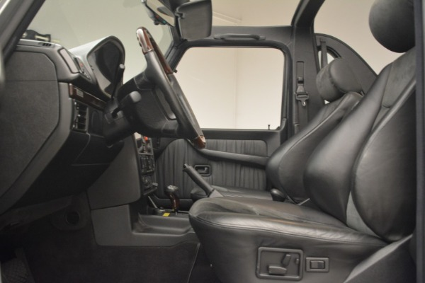 Used 2000 Mercedes-Benz G500 RENNTech for sale Sold at Aston Martin of Greenwich in Greenwich CT 06830 14