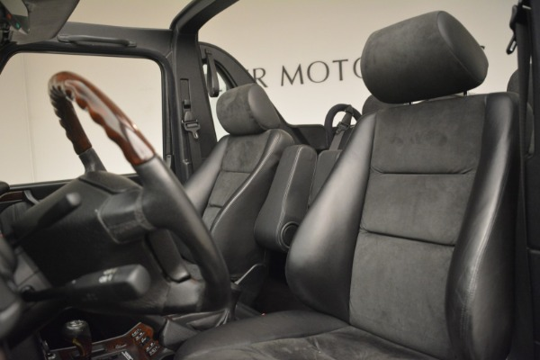 Used 2000 Mercedes-Benz G500 RENNTech for sale Sold at Aston Martin of Greenwich in Greenwich CT 06830 15