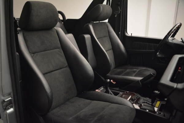 Used 2000 Mercedes-Benz G500 RENNTech for sale Sold at Aston Martin of Greenwich in Greenwich CT 06830 18