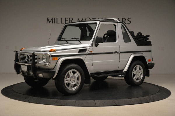 Used 2000 Mercedes-Benz G500 RENNTech for sale Sold at Aston Martin of Greenwich in Greenwich CT 06830 2