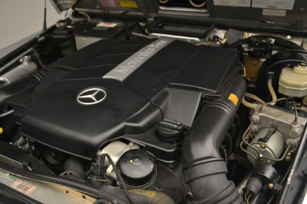 Used 2000 Mercedes-Benz G500 RENNTech for sale Sold at Aston Martin of Greenwich in Greenwich CT 06830 24