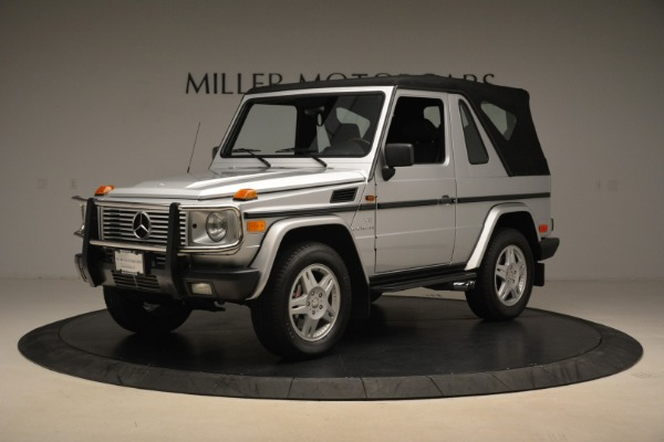 Used 2000 Mercedes-Benz G500 RENNTech for sale Sold at Aston Martin of Greenwich in Greenwich CT 06830 26