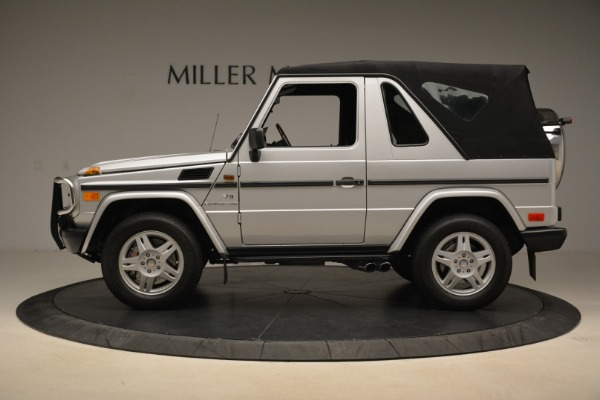 Used 2000 Mercedes-Benz G500 RENNTech for sale Sold at Aston Martin of Greenwich in Greenwich CT 06830 27