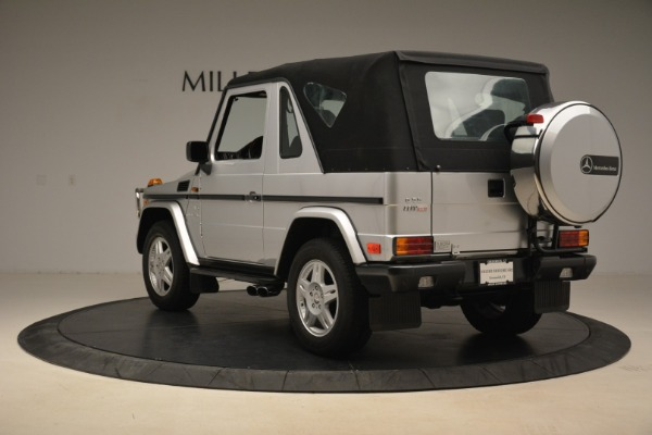 Used 2000 Mercedes-Benz G500 RENNTech for sale Sold at Aston Martin of Greenwich in Greenwich CT 06830 28