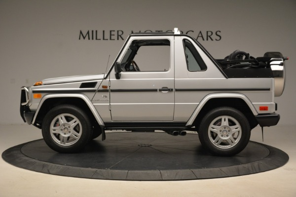 Used 2000 Mercedes-Benz G500 RENNTech for sale Sold at Aston Martin of Greenwich in Greenwich CT 06830 3