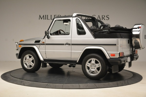 Used 2000 Mercedes-Benz G500 RENNTech for sale Sold at Aston Martin of Greenwich in Greenwich CT 06830 4