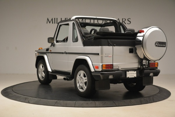 Used 2000 Mercedes-Benz G500 RENNTech for sale Sold at Aston Martin of Greenwich in Greenwich CT 06830 5
