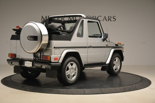 Used 2000 Mercedes-Benz G500 RENNTech for sale Sold at Aston Martin of Greenwich in Greenwich CT 06830 7