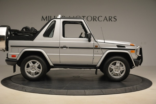 Used 2000 Mercedes-Benz G500 RENNTech for sale Sold at Aston Martin of Greenwich in Greenwich CT 06830 9