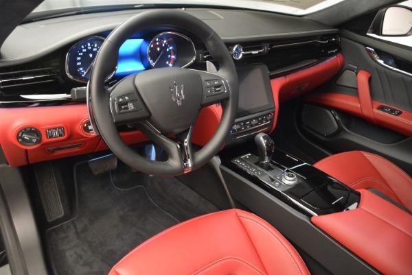 New 2018 Maserati Quattroporte S Q4 GranLusso for sale Sold at Aston Martin of Greenwich in Greenwich CT 06830 14
