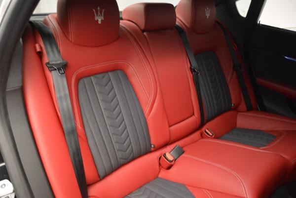 New 2018 Maserati Quattroporte S Q4 GranLusso for sale Sold at Aston Martin of Greenwich in Greenwich CT 06830 26