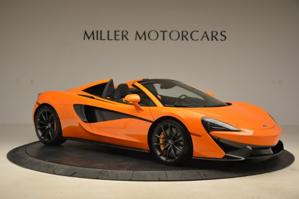 Used 2018 McLaren 570S Spider Convertible for sale Sold at Aston Martin of Greenwich in Greenwich CT 06830 10