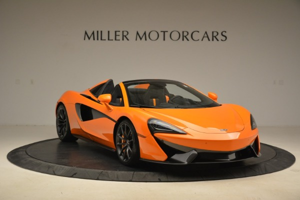 Used 2018 McLaren 570S Spider Convertible for sale Sold at Aston Martin of Greenwich in Greenwich CT 06830 11