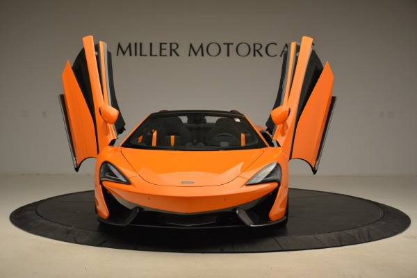 Used 2018 McLaren 570S Spider Convertible for sale Sold at Aston Martin of Greenwich in Greenwich CT 06830 13