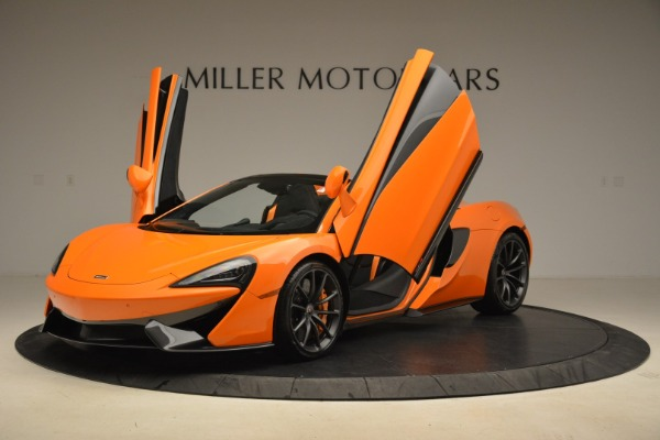 Used 2018 McLaren 570S Spider Convertible for sale Sold at Aston Martin of Greenwich in Greenwich CT 06830 14